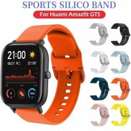 Título do anúncio: Pulseira 20 e 22mm para+Película Smart Watch Amazfit Samsung e Huawei