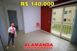 Título do anúncio: Jardim Paradiso Alamanda, 2 quartos, térreo, 1 vaga, use FGTS, Promoção