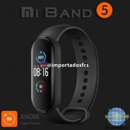 Relógio Xiaomi Mi Band 5 + Película