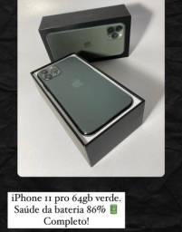 Iphone 11 pro verde 64gb