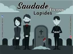 Título do anúncio: Placa Lápide para Túmulo/Cemitério