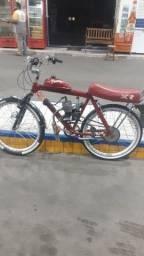 Título do anúncio: Vendo bicicleta motorizada top todas filéU