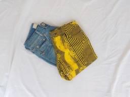Combo Shorts Jeans - Tam 36