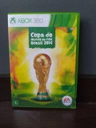 Jogo original Xbox 360 Fifa copa Brasil 2014