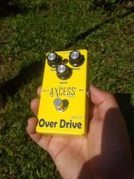Pedal de Guitarra Over Drive Axcess