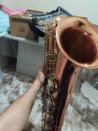 Sax baritono galasso com sol grave