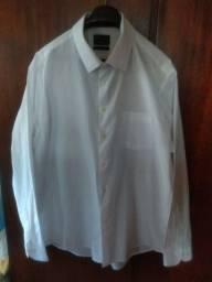 Camisa manga comprida branca