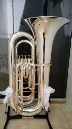 Tuba Weril J981 Prata com Ouro Rose - NOVA-Troco-Parcelo 12x