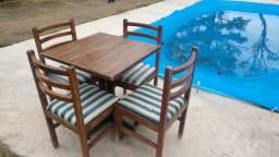 Título do anúncio: 10 Conjuntos de mesa com cadeiras