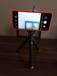 Mini Tripé Flexível Octopus Suporte Celular Go Pro Câmera