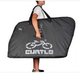 Título do anúncio: Mochila Curtlo para transportar bike, essa mochila nova custa mais de R$ 800,00