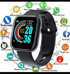 Título do anúncio: Y68 Smartwatch Prova D'Agua  Esportivo Smart Watch Com Monitor De Frequencia D20