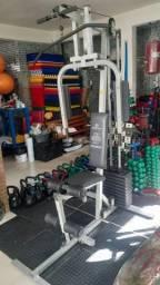 Estação de Musculação Marca Movement seminova com 50 kg de peso