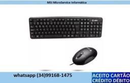 Conjunto teclado e Mouse