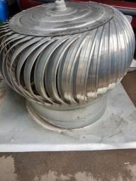 Exaustor industrial eólico