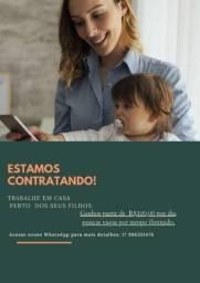 Título do anúncio: OPORTUNIDADE DE TRABALHO