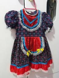 Vestido festa junina TAM 2