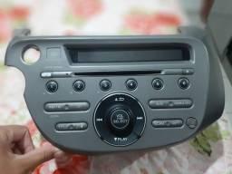 Título do anúncio: Vendo rádio original Honda fit 2009 no valor de 300 reais