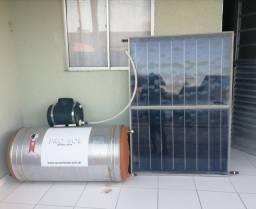 Vendo esse aquecedor e placa solar