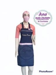 Título do anúncio: Kit avental e toucas personalizado