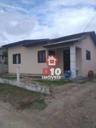Casa com 2 dormitórios à venda, 160 m² por R$ 175.000 - Urussanguinha - Araranguá/SC