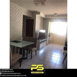 Apartamento com 2 dormitórios à venda, 54 m² por R$ 160.000 - Ernesto Geisel - João Pessoa