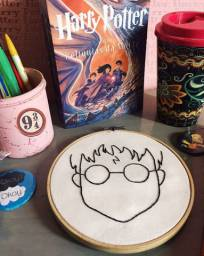 Bordado Harry Potter