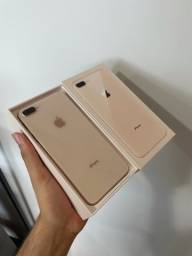 iPhone 8 Plus, 64gb, seminovo.
