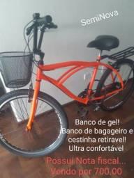 Bicicleta  700 com Nota fiscal