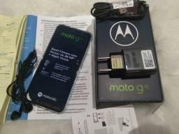 Moto G 10 novo completo, aceito cartão