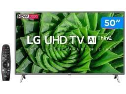 Tv LG 50 lacrada com 1 ano de garantia