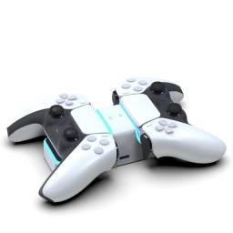 Carregador Controle PlayStation 5 Dock de Carregamento Rapido Duplo PS5 NOVO