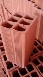 Promoção bloquinho 6 furos tijolo 11,5x14x24 - Pague no ato da entrega!