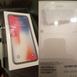 IPhone X 256GB Space Gray - Na caixa