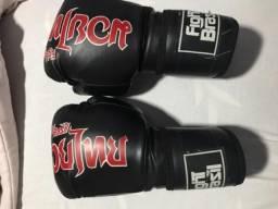 Luva de boxe Fight Brasil + bandagem Punch