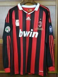 Camisa Milan 2009/2010 Ronaldinho 80