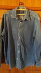 Blusa jeans importada masculina s ( veste 38 -40)