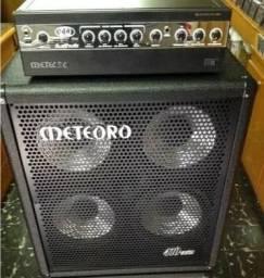 Cabeçote 800 Mb + Caixa Meteoro 410 Bs [ R$ 2.600,00 ]