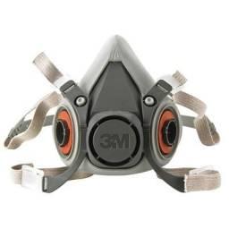 Máscara 3M Respirador Semifacial Médio C/Filtro