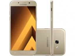 Smartphone samsung a5 2017 novo na cx, 64gb cor dourado