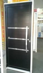 Porta de aluminio