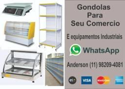 Equipamentos Industriais, Gondolas para seu estabelecimento, com o melhor Preço do mercado