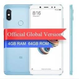 Celular Xiaomi Redmi Note5 64gb 4gb Global + Capa Cor azul