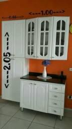Armário de cozinha Laqueado Completo