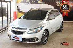 Chevrolet GM Onix LTZ 1.4 Prata - 2014