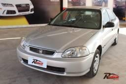 Honda Civic Sedan LX 1.7 Prata - 1997