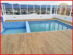 Apartamento com 2 dormitórios à venda, 63 m² por R$ 289.000,00 - Vila Guilhermina - Praia