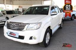 Toyota Hilux CD SRV 2.7 Branco - 2013