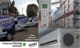 Preços de fábrica já instalados em sua casa Ar condicionado split 9000 a 3000btus Novos