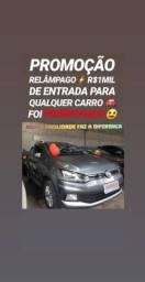 Hoje É AQUI!! R$1MIL DE ENTRADA(CROSSFOX 1.6 2015 COMPLETO) - 2015